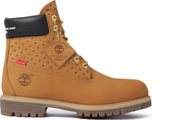 Supreme Archive Comme des Garçons SHIRT x Timberland x Supreme, 6-Inch Boot