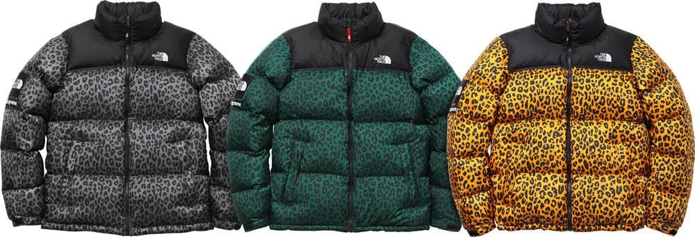 chaqueta the north face leopardo