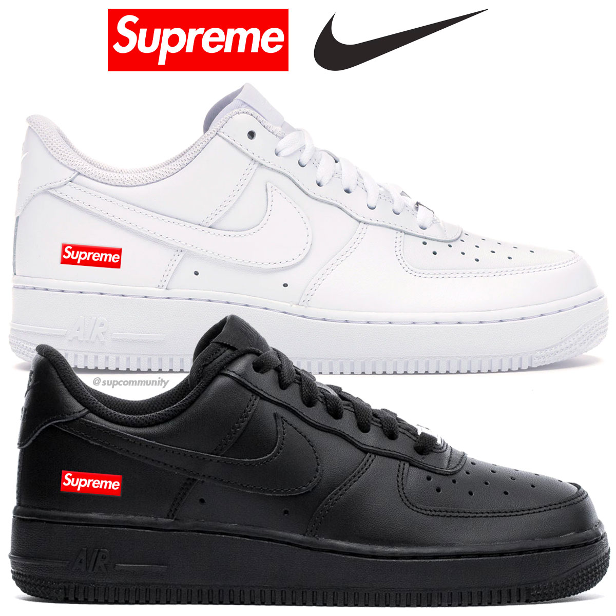 SupremeNike Air Force 1 Low News Supremecommunity