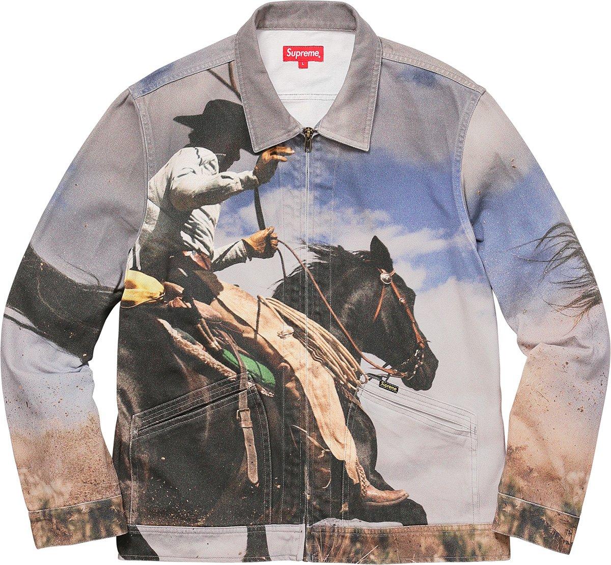 13aed4ad4a63 Details Supreme Cowboy Denim Work Jacket - Supreme Community