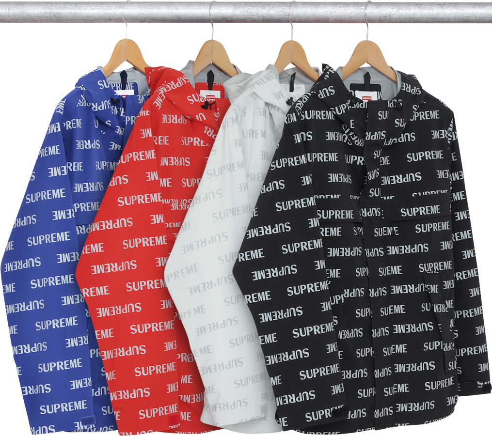 3m Reflective Repeat Taped Seam Jacket