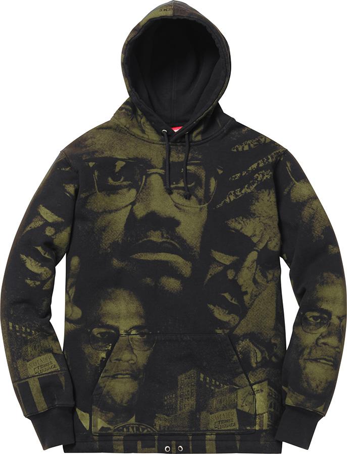 Details Supreme Malcolm X™ Hooded Sweatshirt Supreme Community