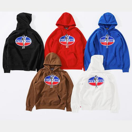Supreme/HYSTERIC GLAMOUR Hooded Sweatshirt