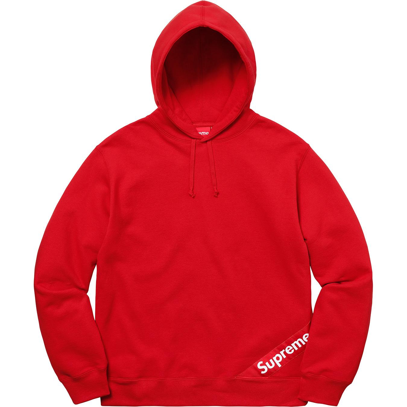 Details Supreme Corner Label Hooded Sweatshirt Supreme Community [ 1350 x 1350 Pixel ]