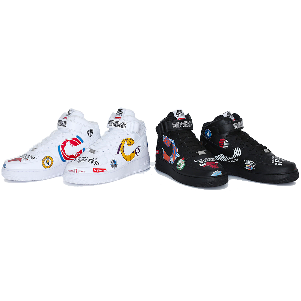 buy online c8913 ef79a Supreme® Nike® NBA Teams Air Force 1 Mid