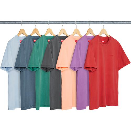 Overdyed Tee - All cotton jersey