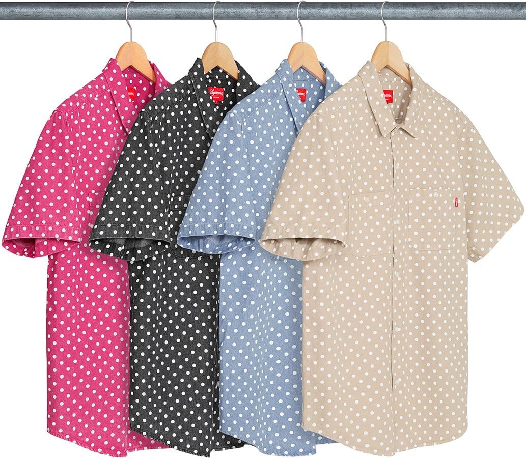 acfc39d2ecf4 Details Supreme Polka Dot Denim Shirt - Supreme Community