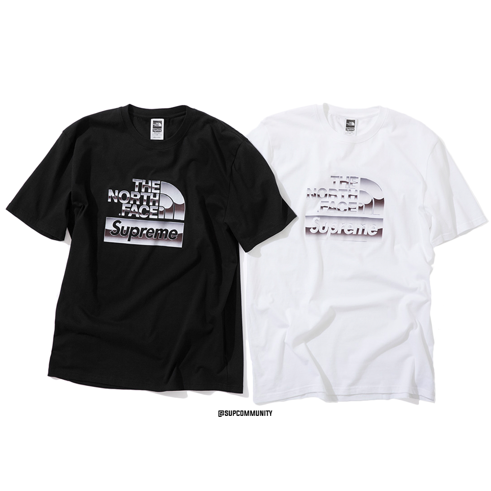 b6b00bd1 Details Supreme Supreme®/The North Face® Metallic Logo T-Shirt ...