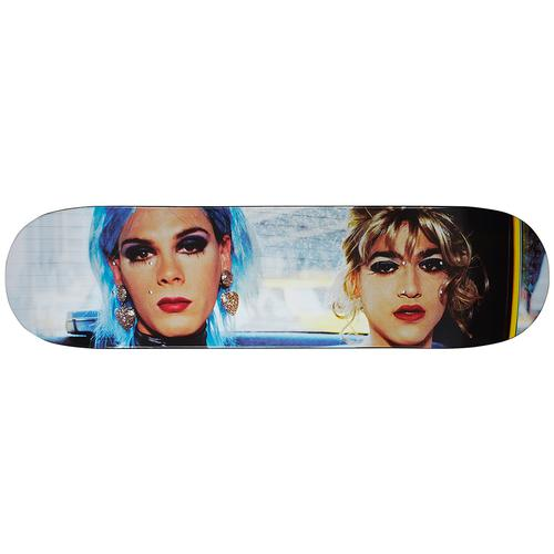 Nan Goldin/Supreme Misty and Jimmy Paulette Skateboard - Nan Goldin for Supreme
