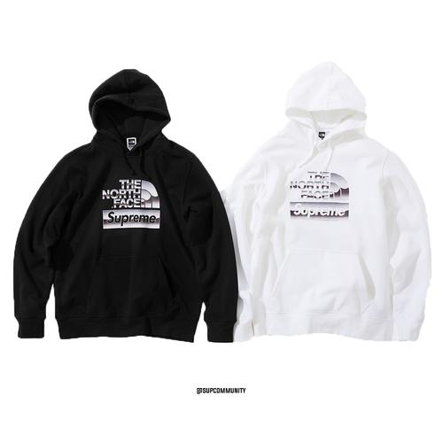 0ef853758569 Supreme®/The North Face® Metallic Logo Hooded Sweatshirt