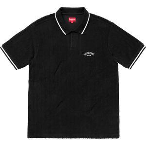 71983f32e1 Details Supreme Cable Knit Terry Polo - Supreme Community