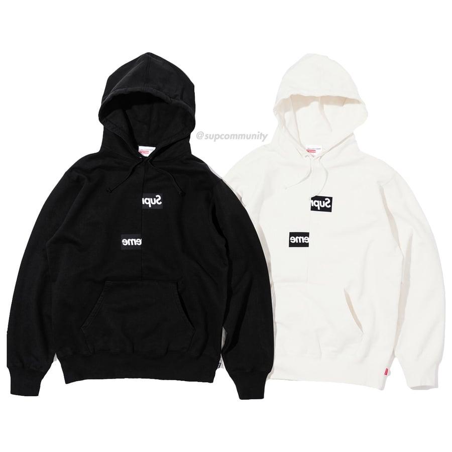c479ccaca16b0 Supreme® Comme des Garçons SHIRT® Split Box Logo Hooded Sweatshirt