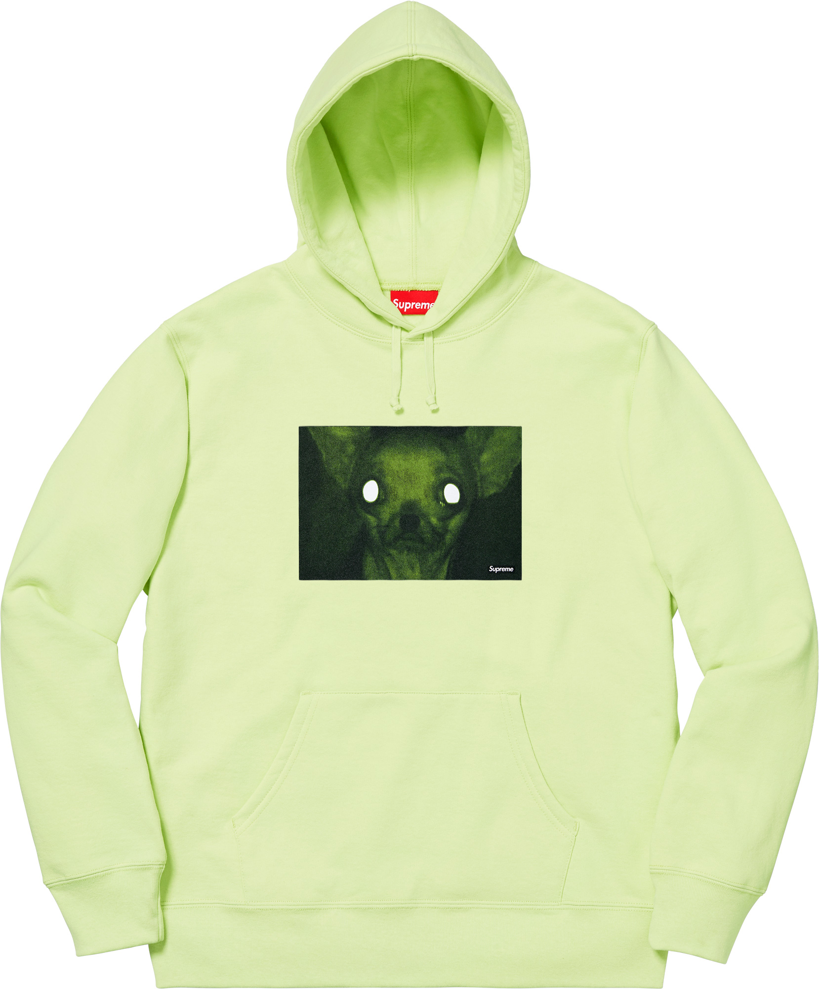 Details Supreme Chris Cunningham Chihuahua Hooded Sweatshirt