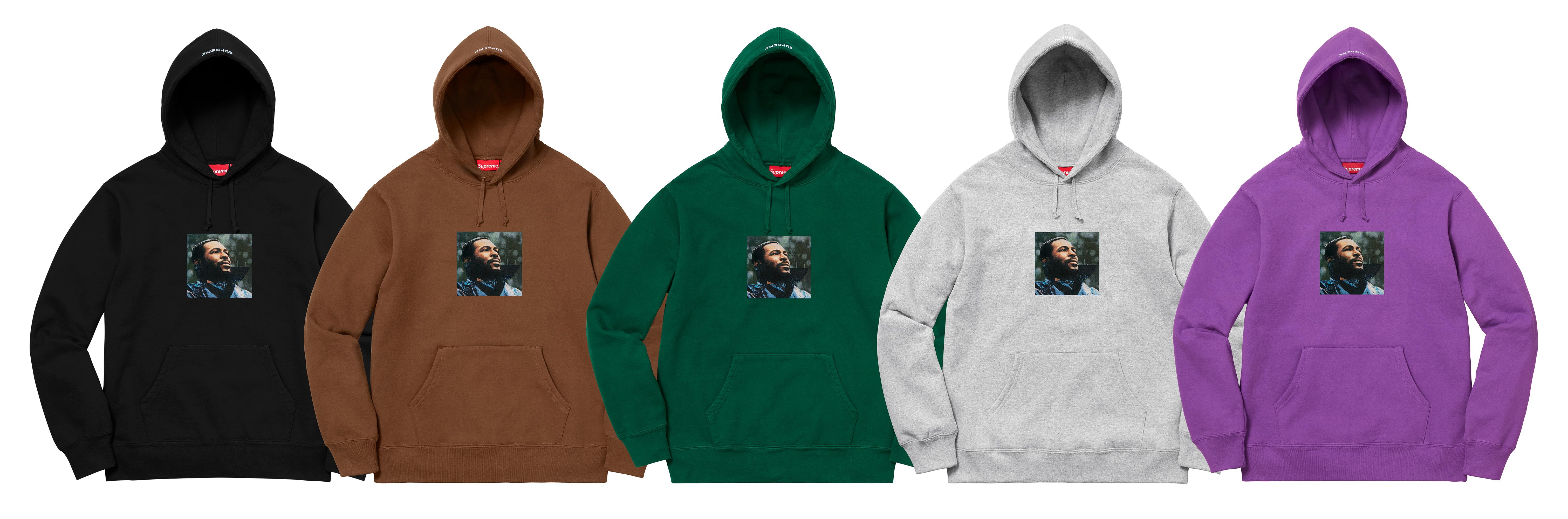 a5a17cdc Details Supreme Marvin Gaye Hooded Sweatshirt - Supreme Community