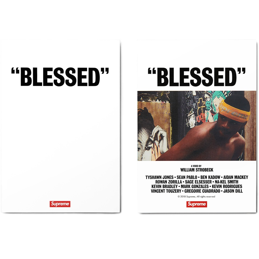 """BLESSED"" DVD - ""BLESSED"" is directed by New York-based videographer William Strobeck. The video features Tyshawn Jones, Sean Pablo, Ben Kadow, Aidan Mackey, Rowan Zorilla, Sage Elsesser, Nakel Smith, Kevin Bradley, Mark Gonzales, Kevin Rodrigues, Vincent Touzery, Gr..."