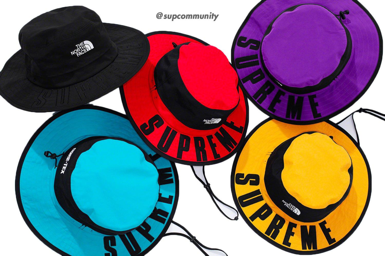 992fcd1d Details Supreme Supreme®/The North Face® Arc Logo Horizon Breeze Hat ...