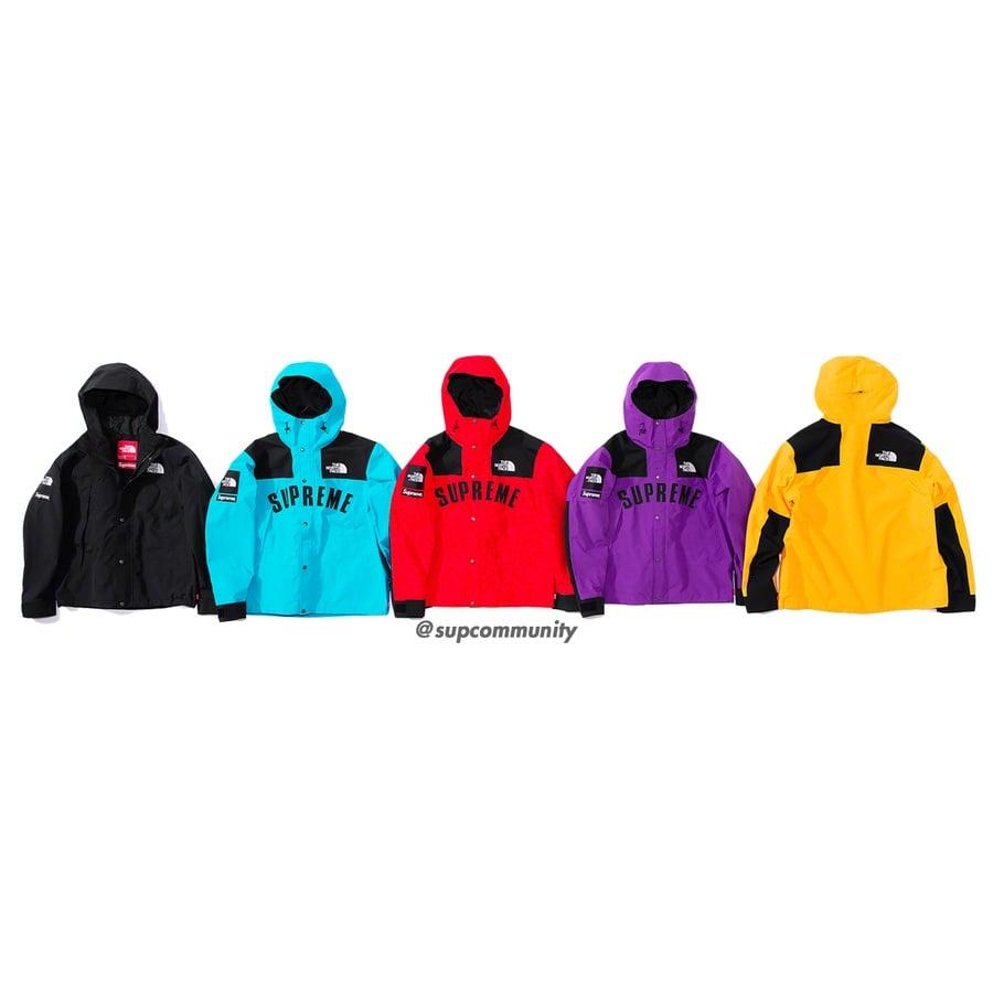 f58b25a63 Details Supreme Supreme®/The North Face® Arc Logo Mountain Parka ...