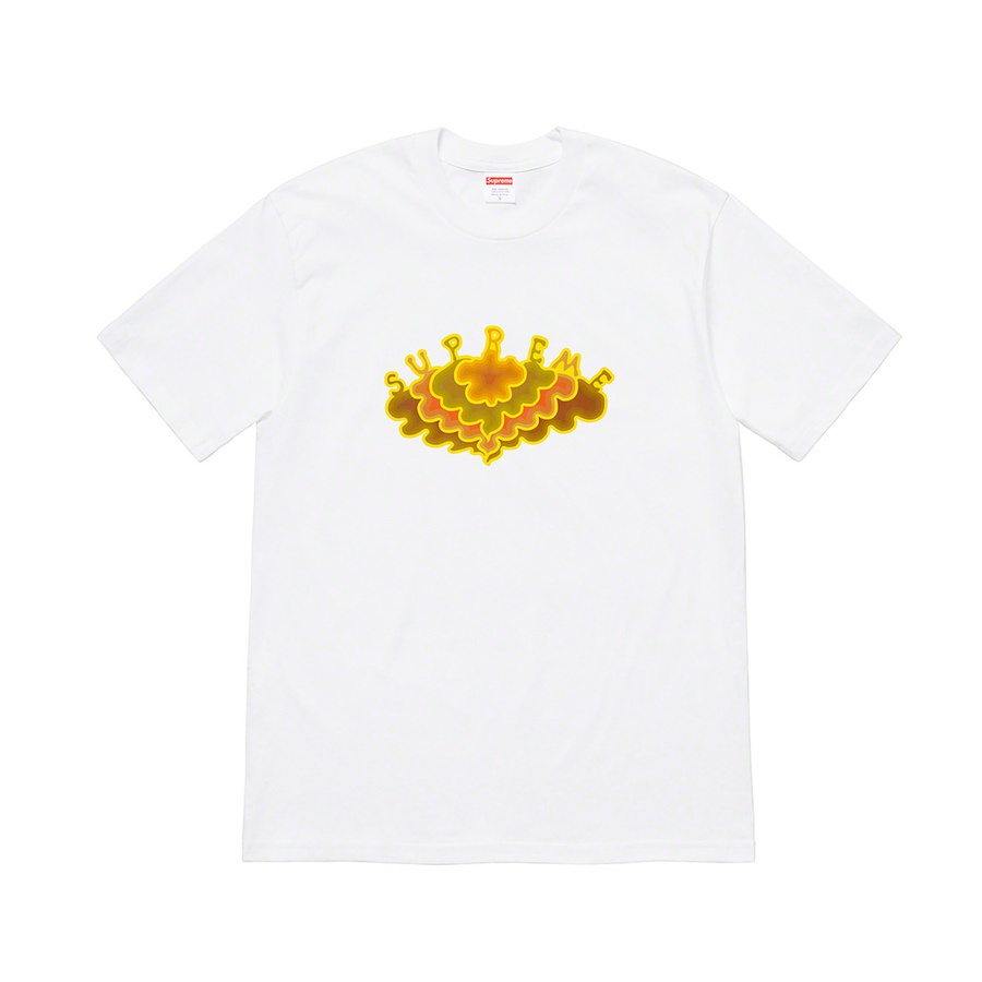 Cloud Tee - All cotton classic Supreme t-shirt with printed graphic on front.