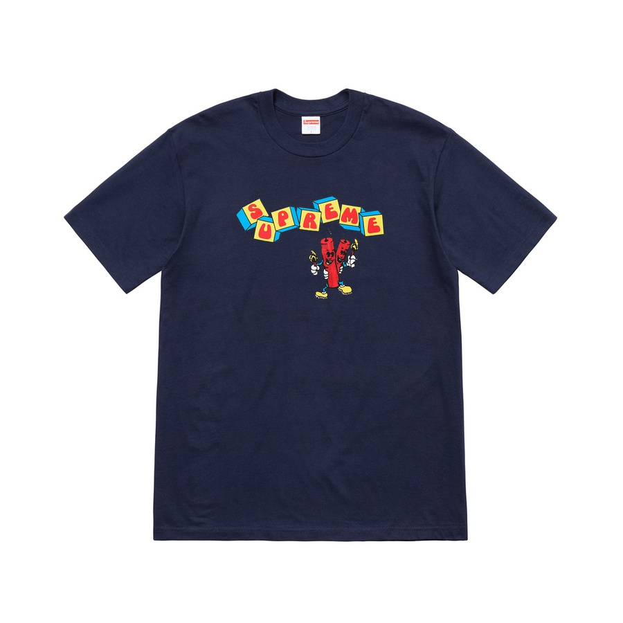 Dynamite Tee - All cotton classic Supreme t-shirt with printed graphic on front.