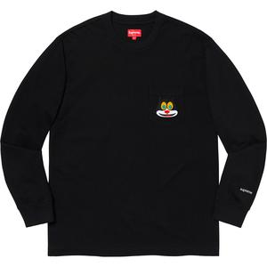 Cat L/S Pocket Tee Black