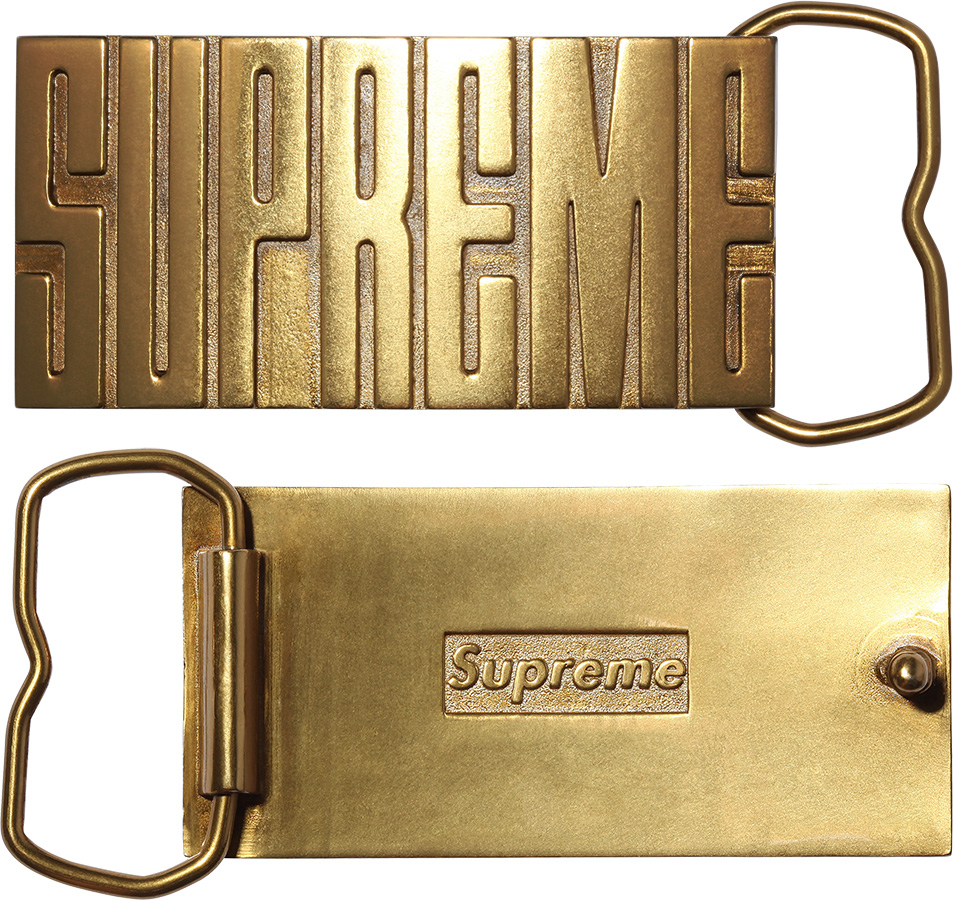 7601684ac96f Details Supreme Brass Belt Buckle - Supreme Community