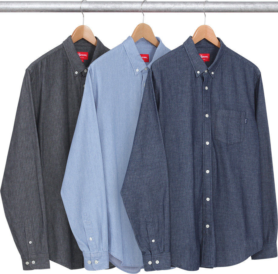 06f15b3964cb Details Supreme Herringbone Denim Shirt - Supreme Community