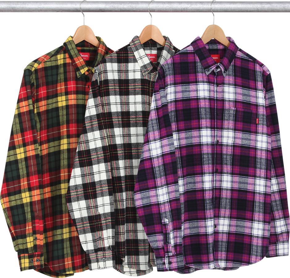 2536c703919 Details Supreme Tartan Flannel Shirt - Supreme Community