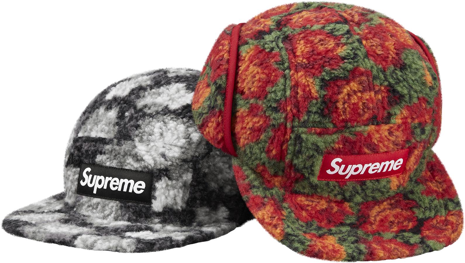 8b9d50c48cc Details Supreme Roses Sherpa Fleece Earflap Camp Cap - Supreme Community