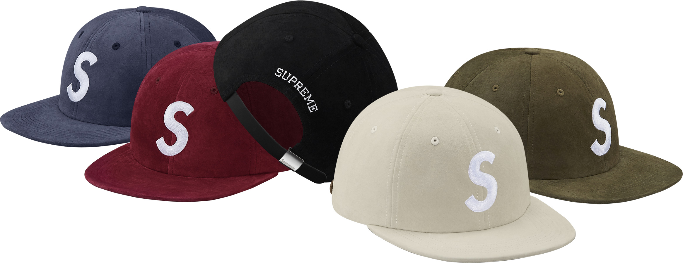 ... Suede S Logo 6-Panel ... d3ddb3cd843