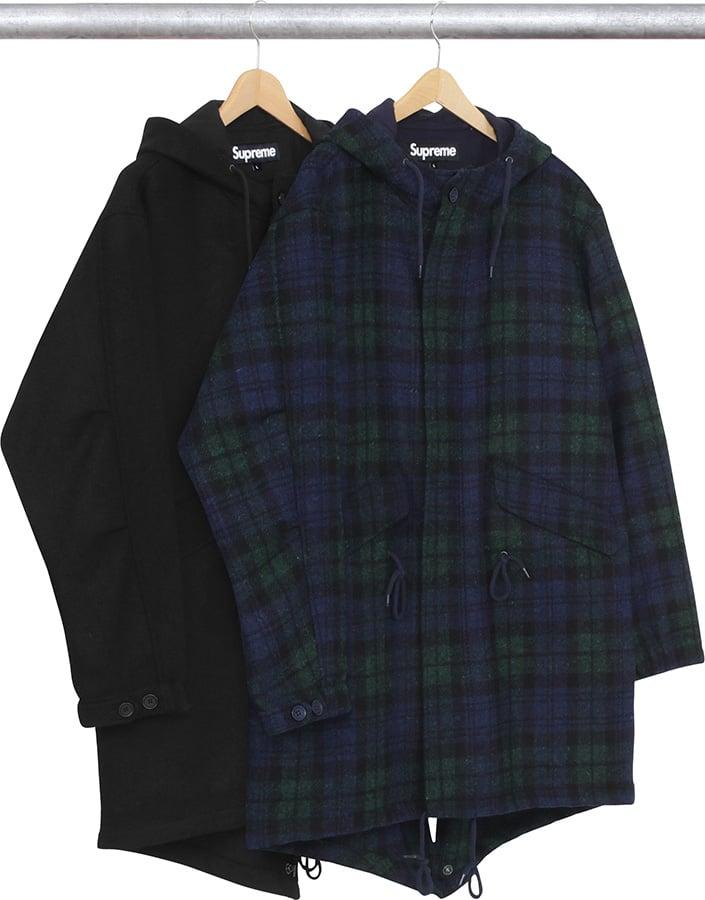 buy online 1e99c 13213 Wool Fishtail Parka