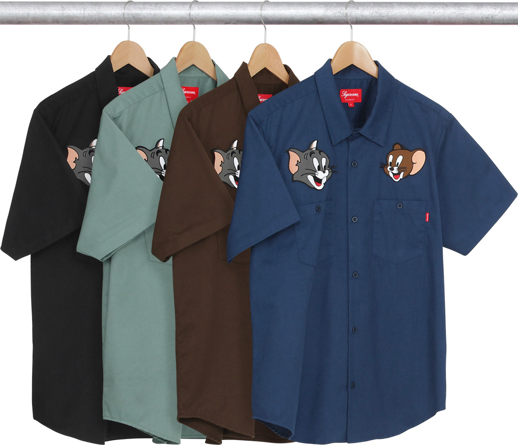 Supreme Tom Jerry S Work Shirt