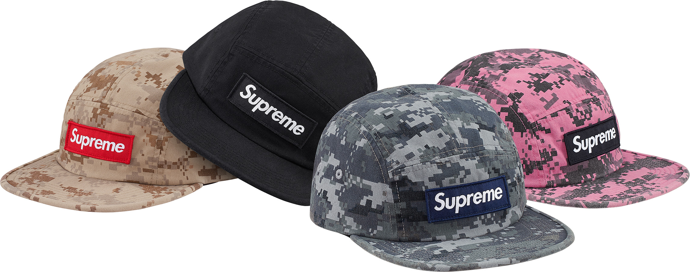 3542b56b Details Supreme NYCO Twill Camp Cap - Supreme Community