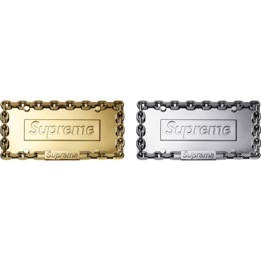 Details Supreme Chain License Plate Frame - Supreme Community