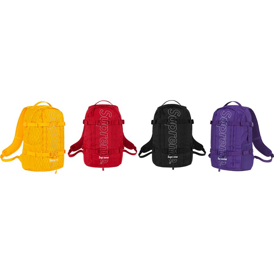 Backpack - Dimension-Polyant VX21-RS 4-layered fabric with 50 denier taffeta backing. Waterproof and abrasion resistant.  Main and front zipper compartment with internal zipper pocket. Top zipper compartment with key clip. Mesh side compartments. 3M® Reflective ...
