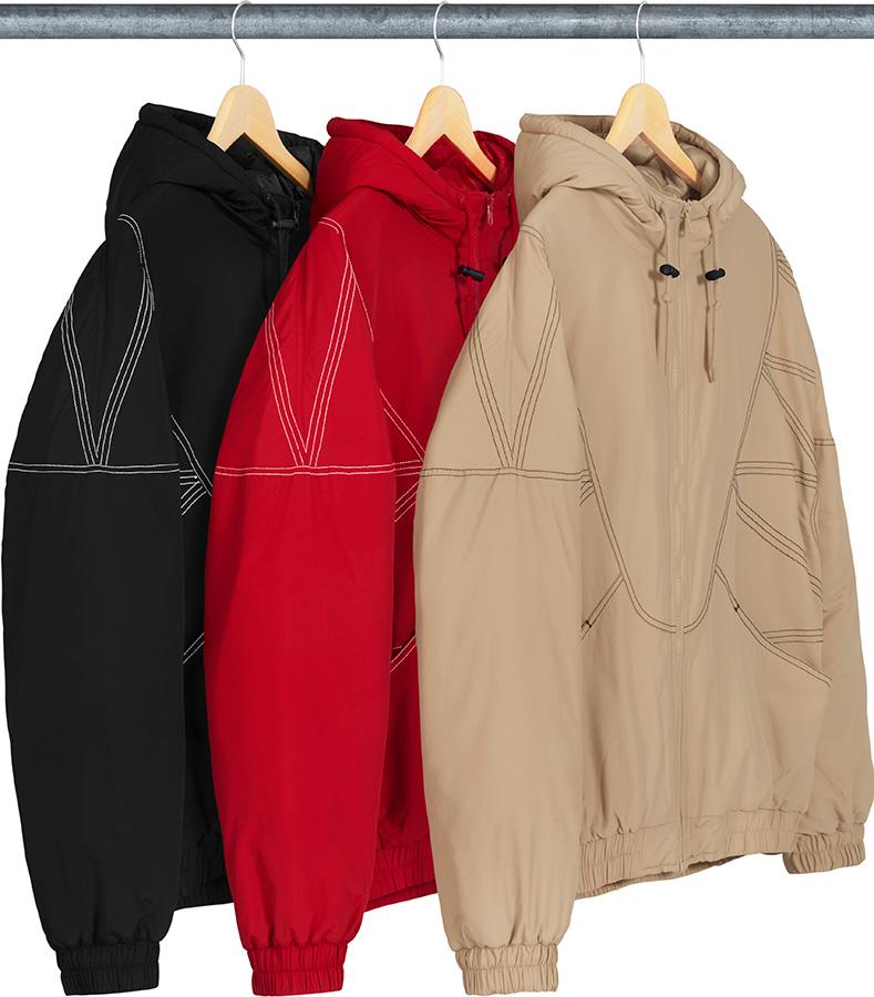 5034f331 Details Supreme Zig Zag Stitch Puffy Jacket - Supreme Community