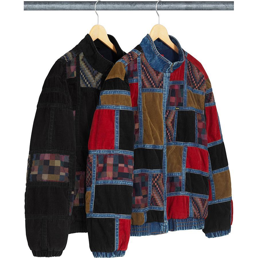 284817fec203 Details Supreme Corduroy Patchwork Denim Jacket - Supreme Community
