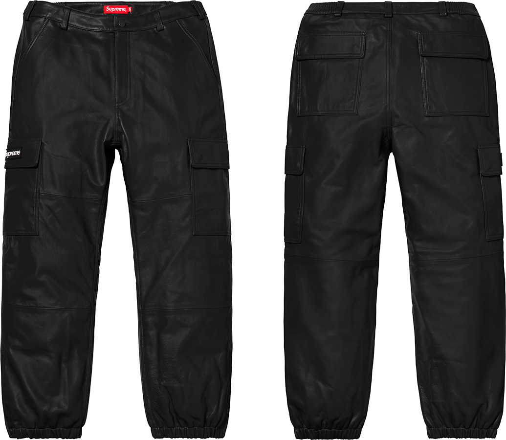 Details Supreme Leather Cargo Pant - Supreme Community