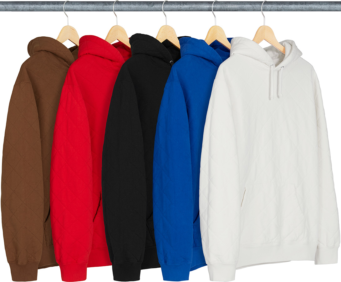 206b16eb3 Details Supreme Quilted Hooded Sweatshirt - Supreme Community