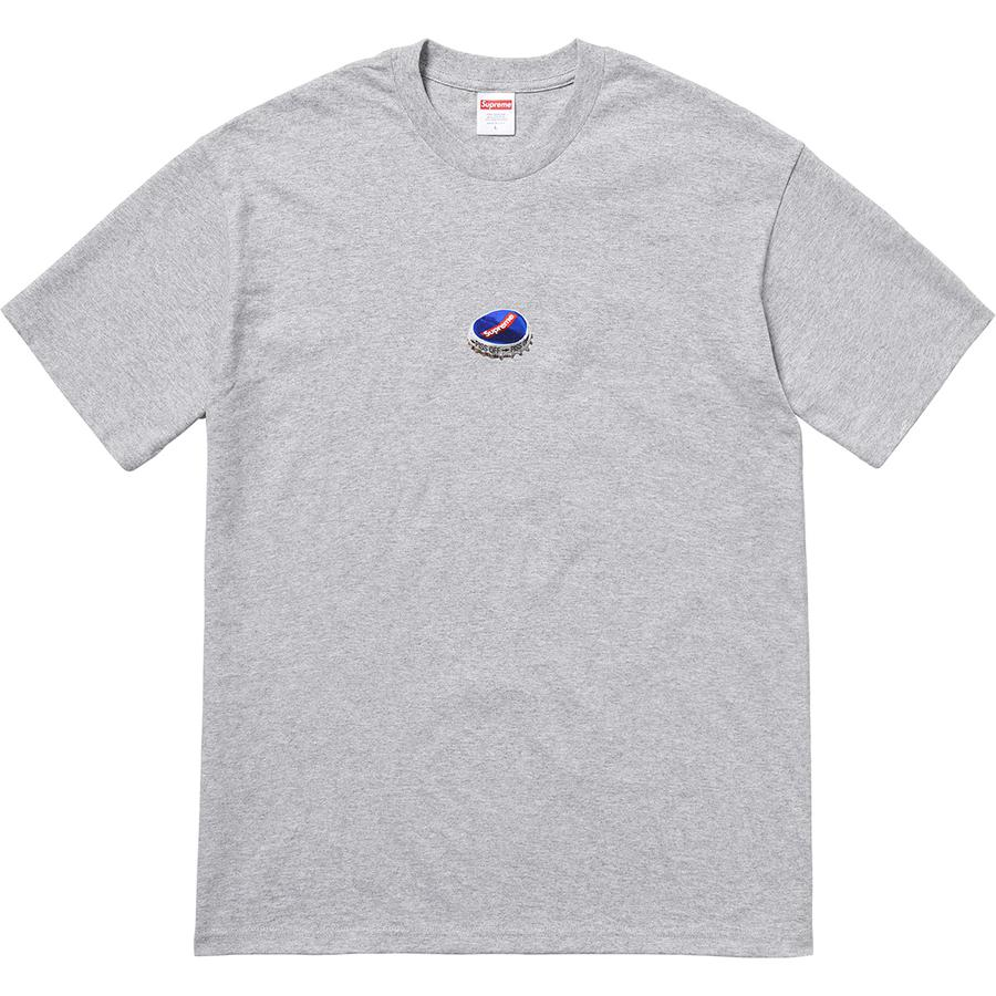 Bottle Cap Tee - All cotton classic Supreme t-shirt with printed graphic on front.