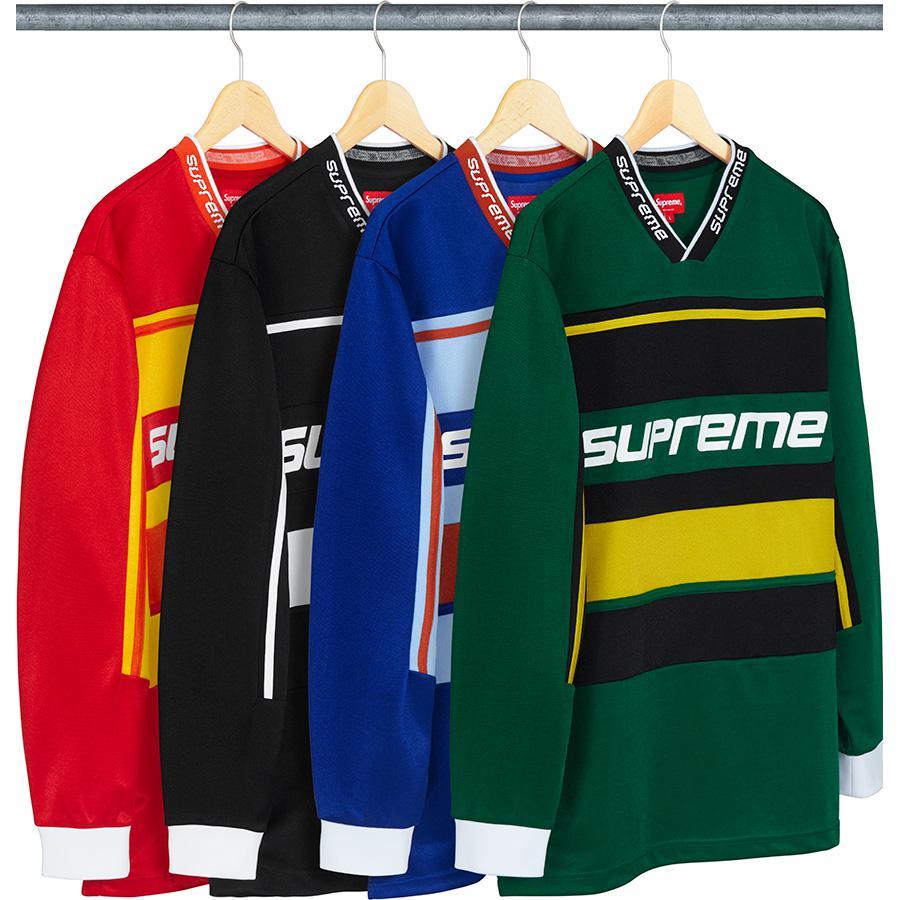 Details Supreme Warm Up Hockey Jersey - Supreme Community