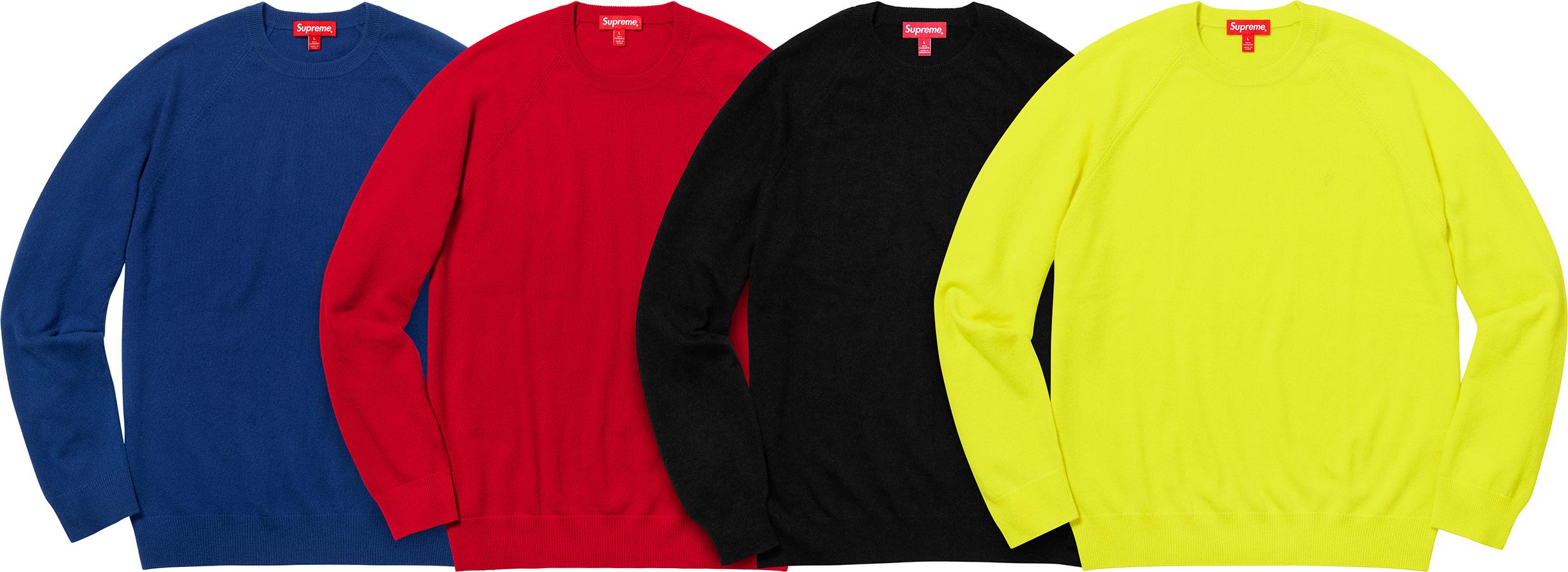 795bf08d6cc6 Details Supreme Cashmere Sweater - Supreme Community