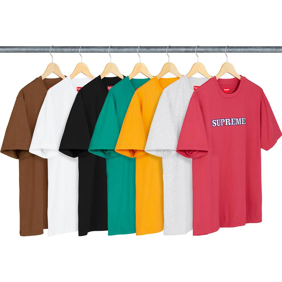 """a12fba7c ... the Reflective Small Box Logo T-shirt, the Nouveau logo T-shirt and the  """"First & Best"""" T-shirt. While not as splashy as the traditional box ..."""
