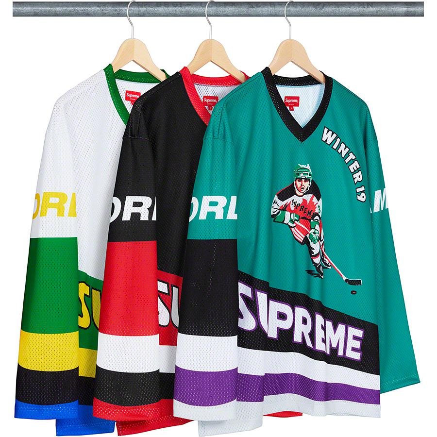 Details Supreme Crossover Hockey Jersey - Supreme Community