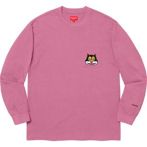 Cat L/S Pocket Tee