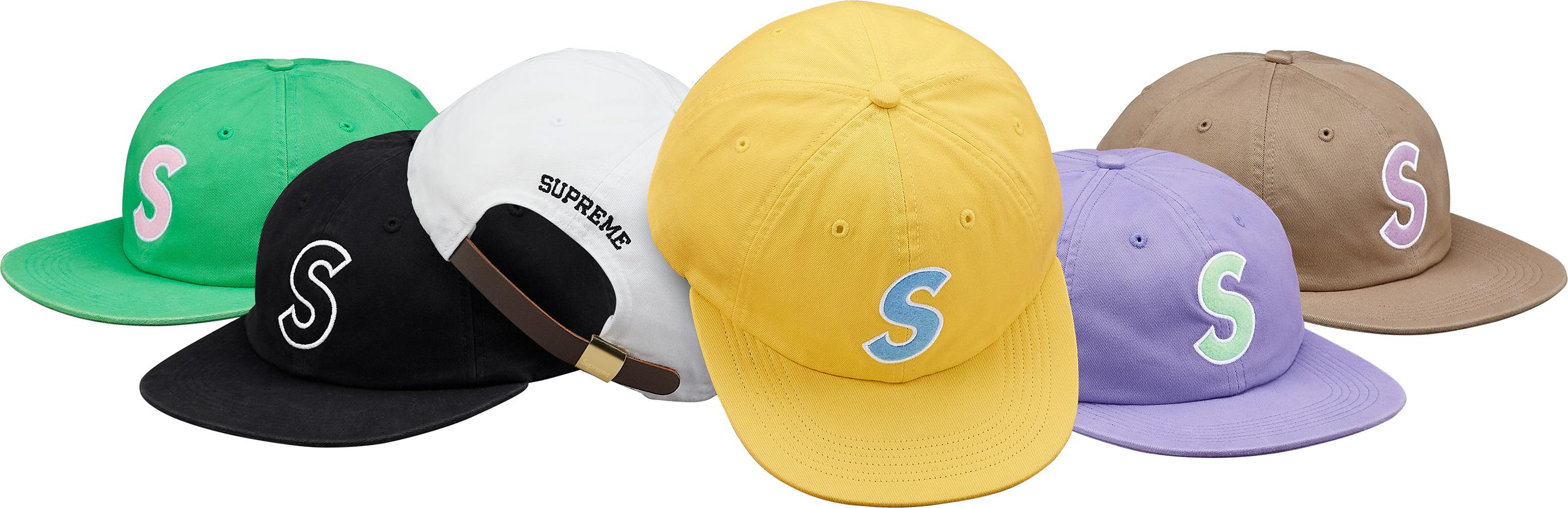 a7122d42c75 Details Supreme Felt S Logo 6-Panel - Supreme Community