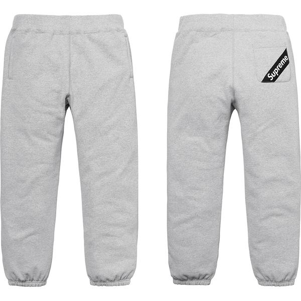 Corner Label Sweatpant - Cotton fleece