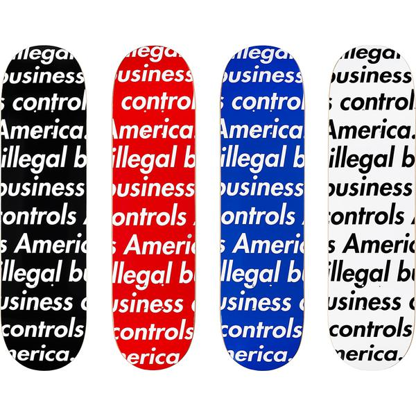 Illegal Business Skateboard -