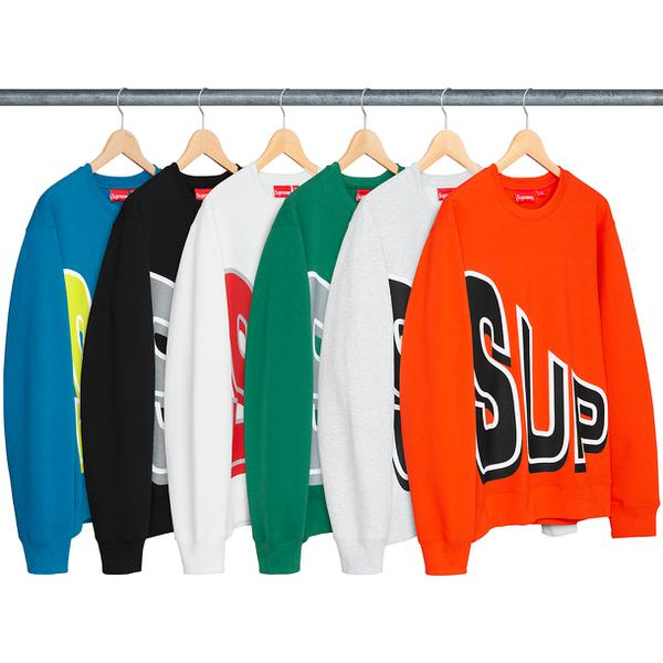 Side Arc Crewneck - Cotton fleece