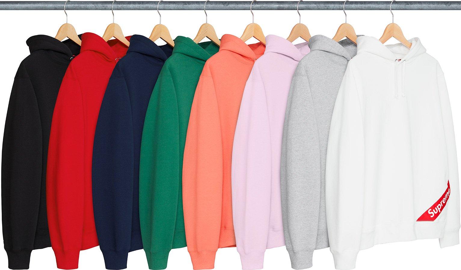 Details Supreme Corner Label Hooded Sweatshirt Supreme Community [ 900 x 1533 Pixel ]