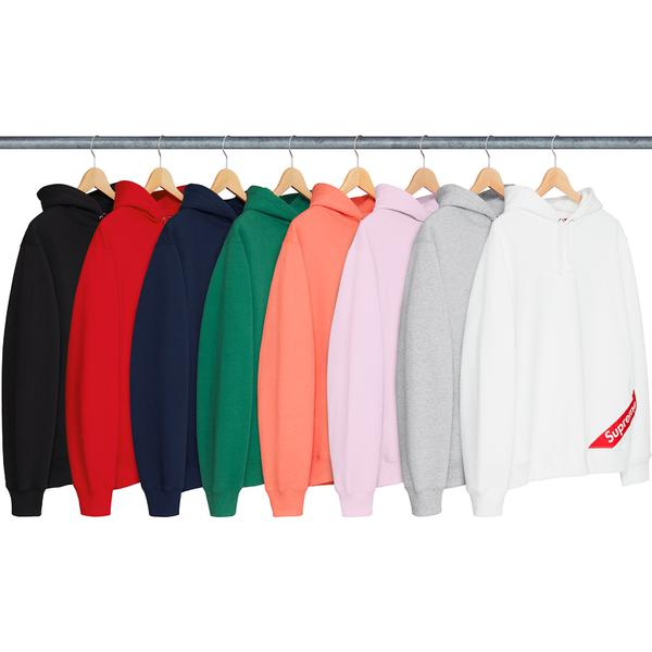 Corner Label Hooded Sweatshirt - Cotton fleece